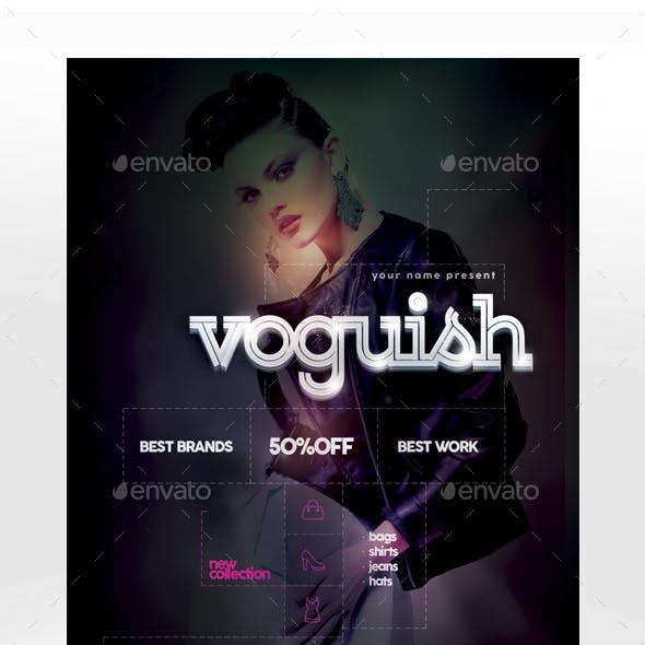 Voguish Flyer Template