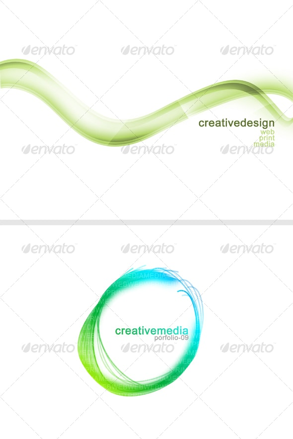Professional Abstract Design for Website, Presenta - Backgrounds Graphics