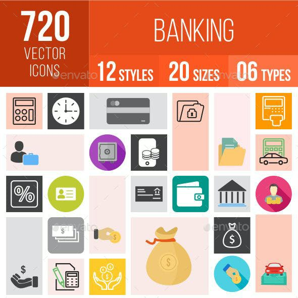 720 Banking Icons