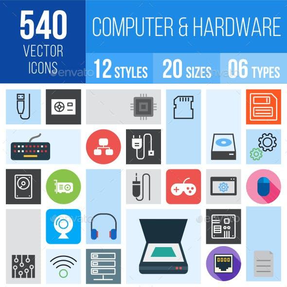 540 Computer Hardware Icons