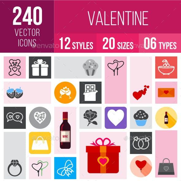 240 Valentine Icons