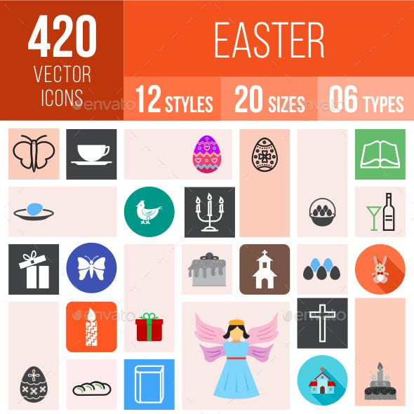 420 Easter Icons