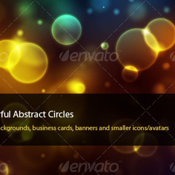 Colourful Abstract Circles