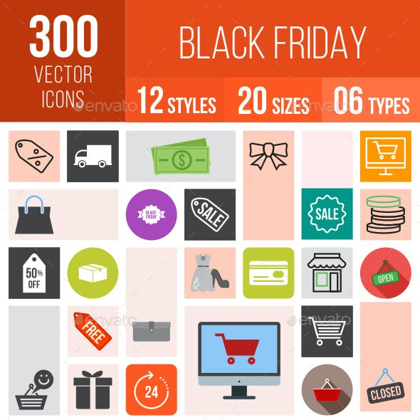 Black Friday Icons