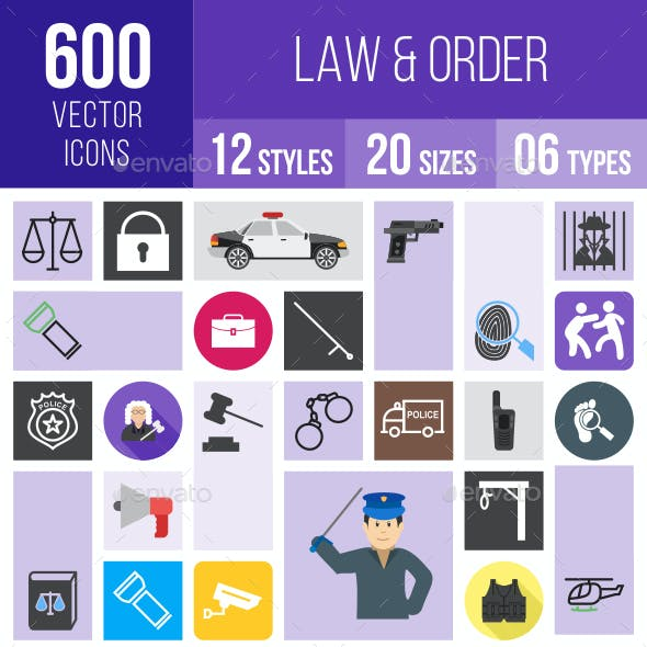 Law & Order Icons