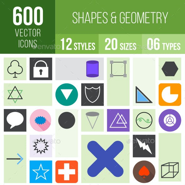 Shapes & Geometry Icons