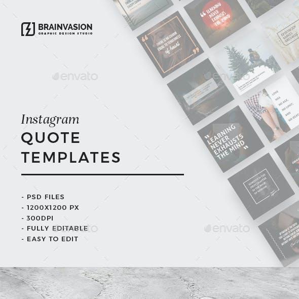 30 Instagram Quote Templates