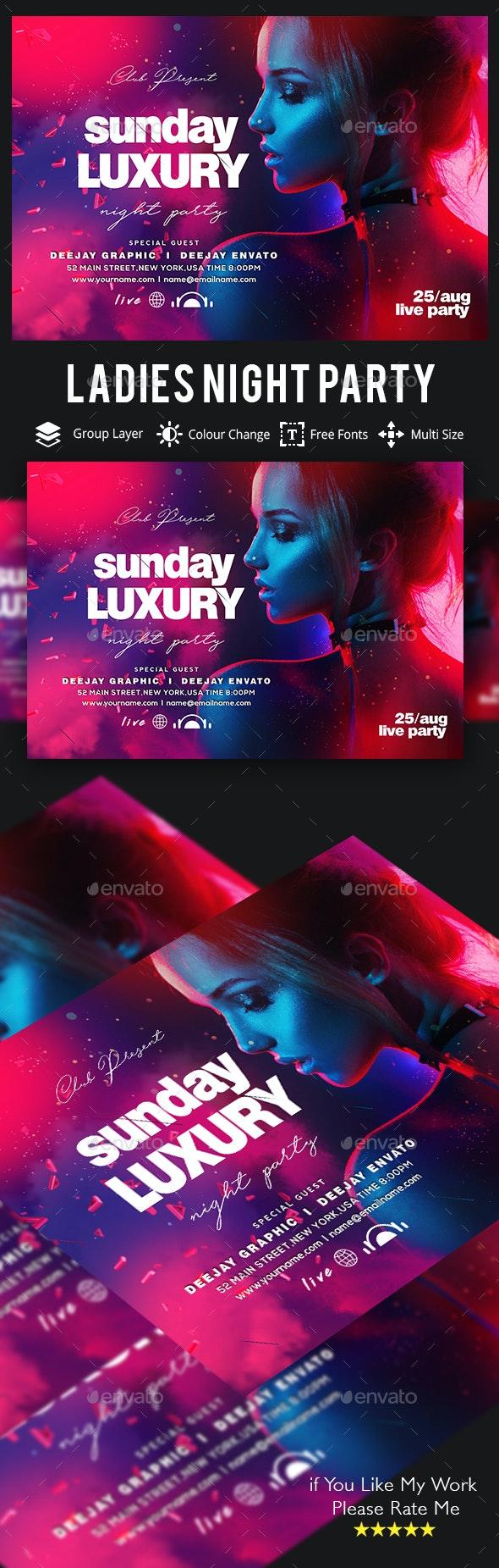 Guest DJ / Artist Flyer - Events Flyers