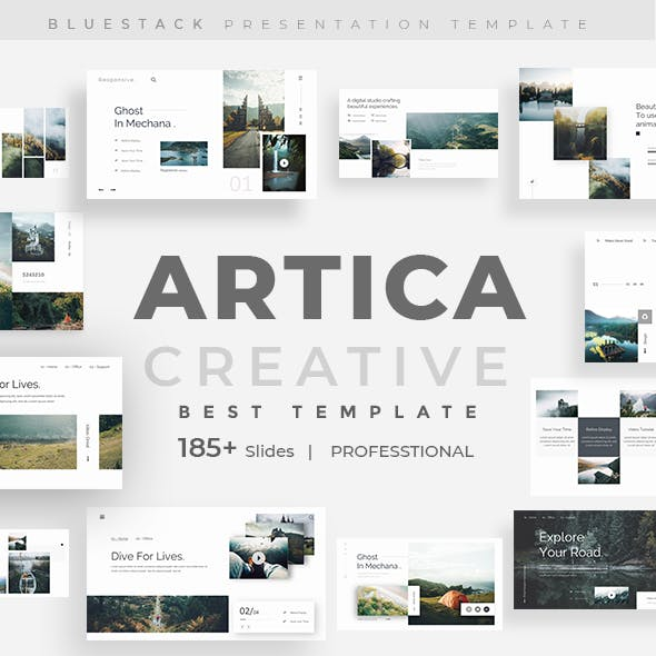 Artica Creative Powerpoint Template