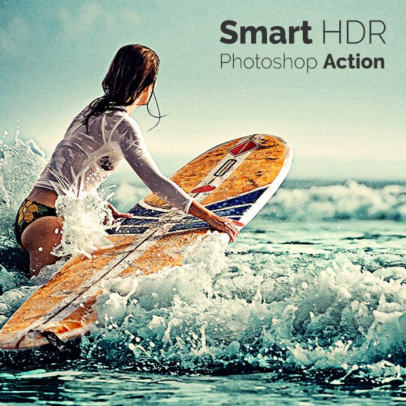 Smart HDR - Photoshop Action