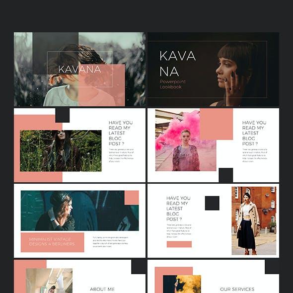 Kavana Lookbook Powerpoint Templates
