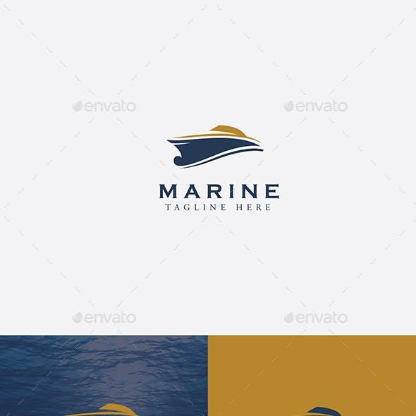 Yacht Marine Logo