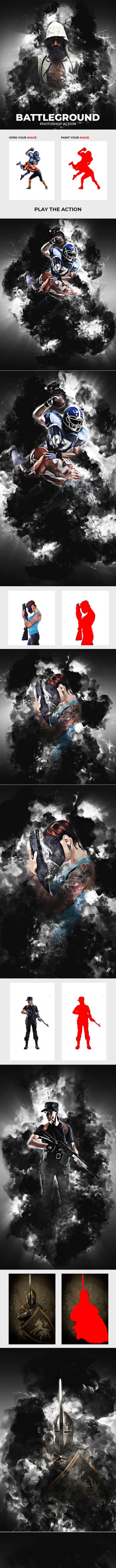 BattleGround Photoshop Action - Photo Effects Actions