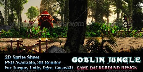 Goblin Jungle Game Background