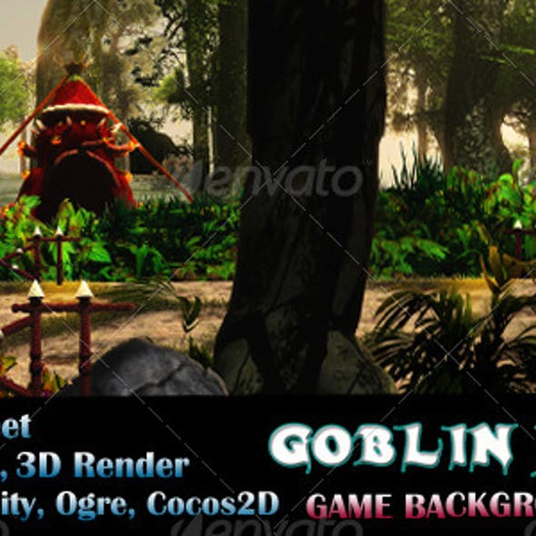 Goblin Jungle Game Background