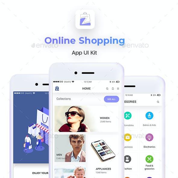 Online Shopping App UI