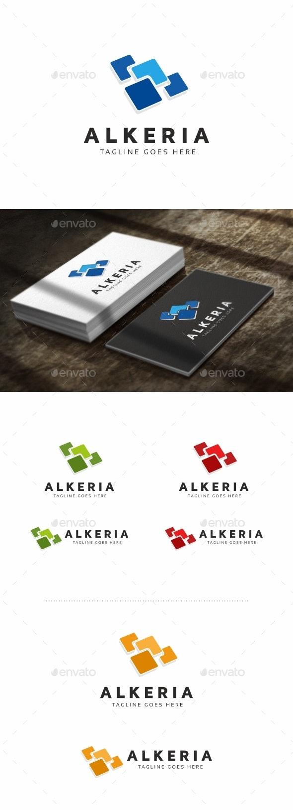 Tile Logo - Abstract Logo Templates
