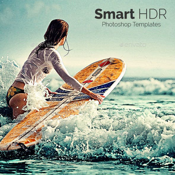 Smart HDR - Photoshop Templates