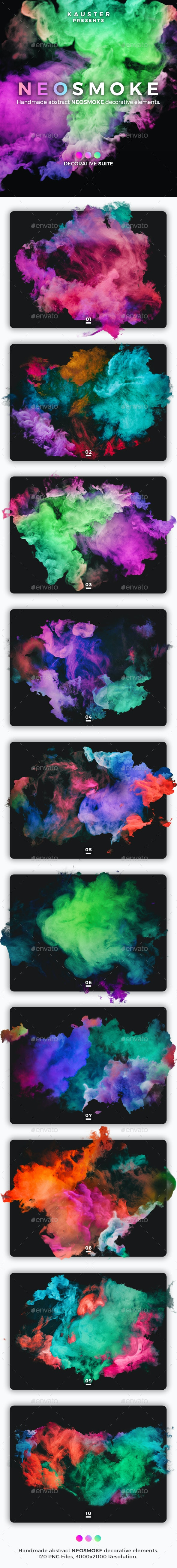 Neosmoke Decorative Suite - Decorative Graphics
