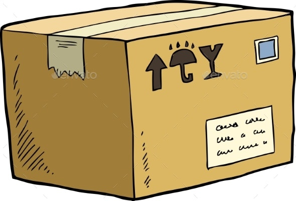 Cardboard Box - Miscellaneous Vectors