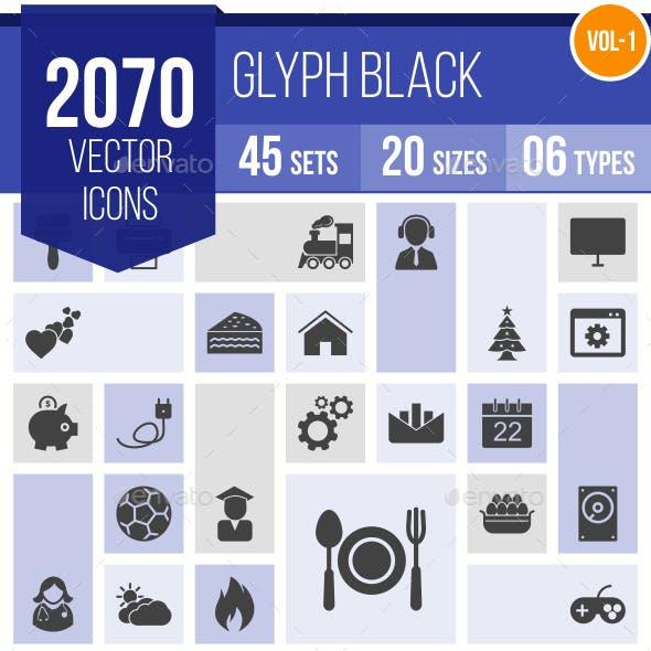 2070 Vector Glyph Icons