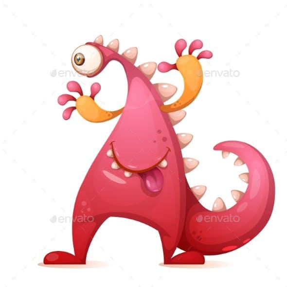 Monster Dino Character