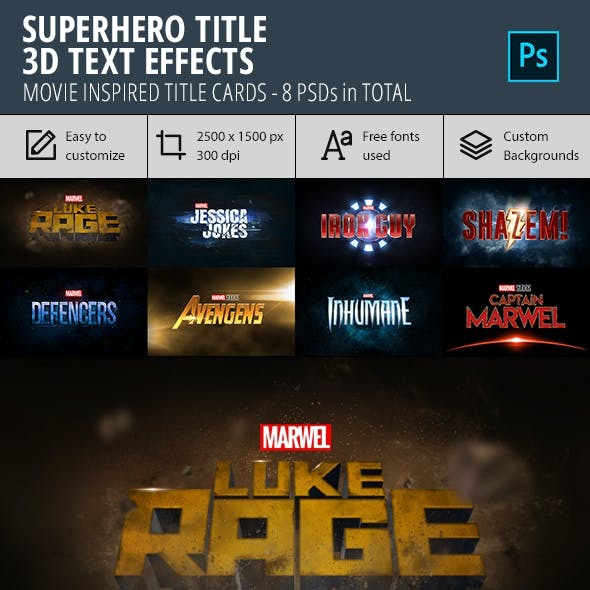 Marvel Graphics, Designs & Templates from GraphicRiver
