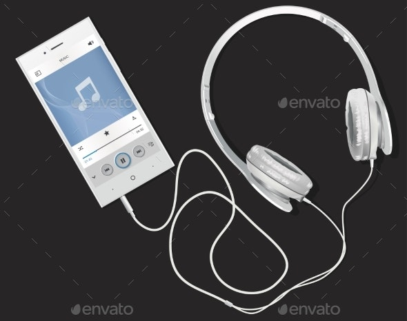 Phone and Music - Media Technology