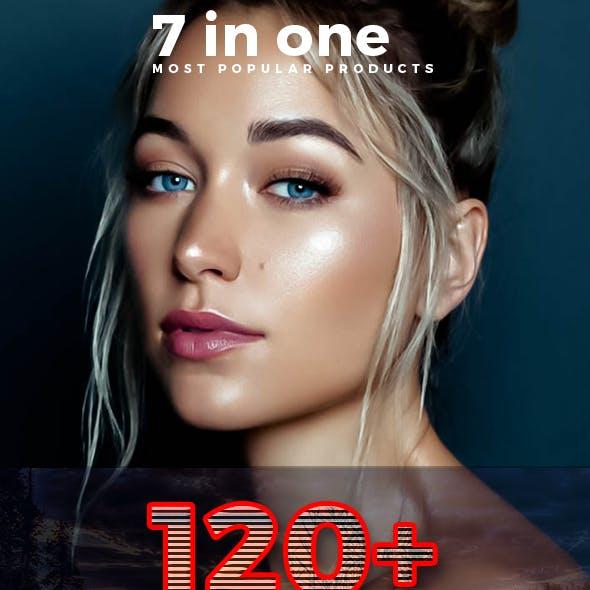 120+ Premium Lightroom Preset Bundle