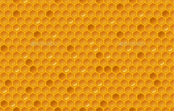 Honey Comb Pattern - Backgrounds Decorative