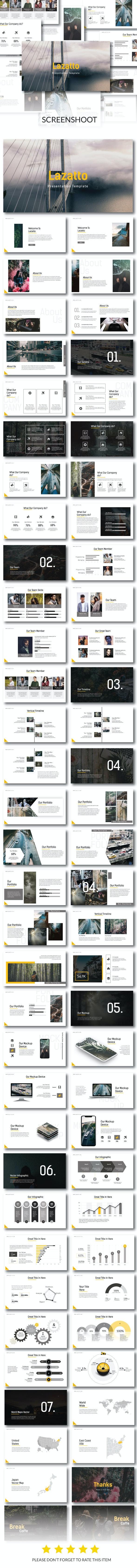 Lazatto - Powerpoint Template - PowerPoint Templates Presentation Templates