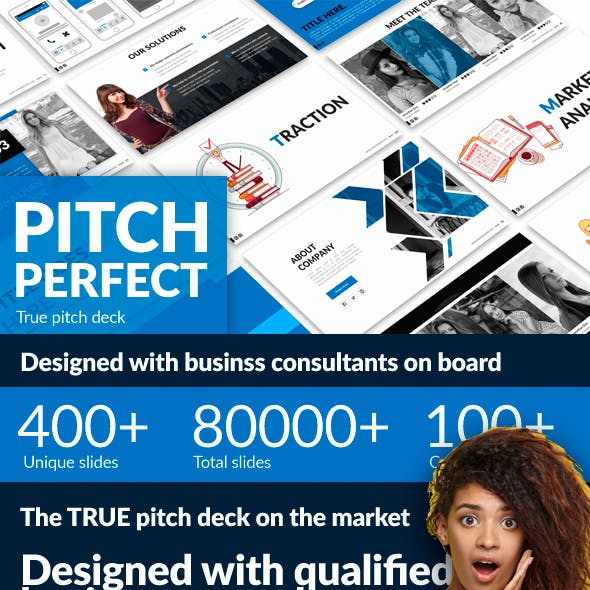 Pitch Perfect - Google Slides Pitch Deck Template