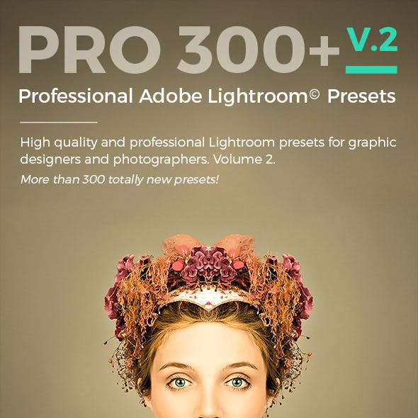 PRO 300 II - Professional Adobe Lightroom Presets