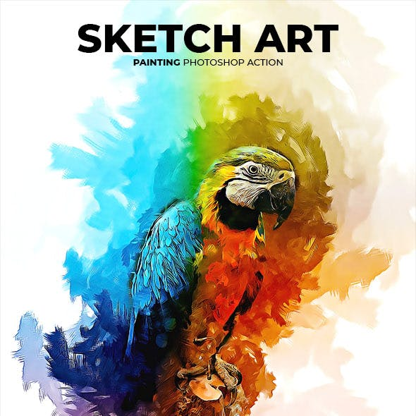 Sketch Art Painting Photoshop Action