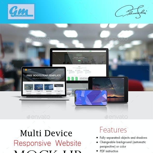 Multi Devices Responsice Mockup