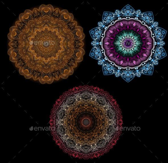 Mandala Patterns - Patterns Decorative