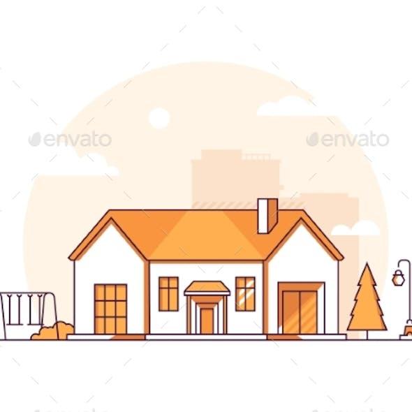 Cottage - Modern Thin Line Design Style