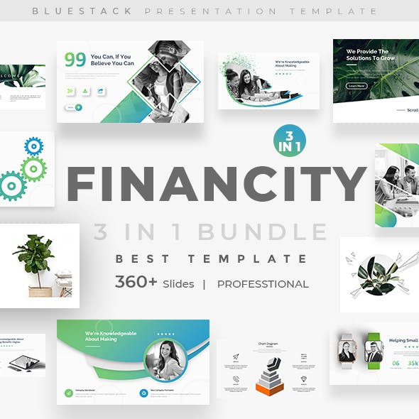 Financity 3 in 1 Bundle Powerpoint Template