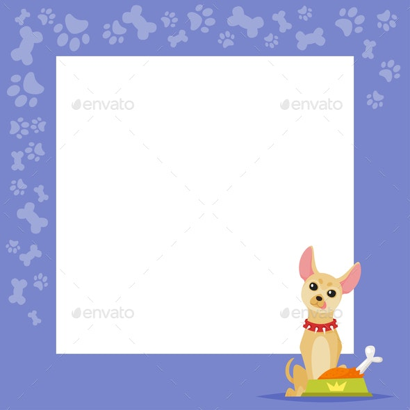 Dog Background - Animals Characters