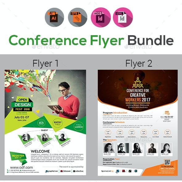 Business Event   Conference Flyer Bundle