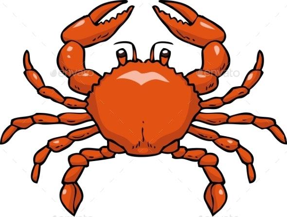Cartoon Doodle Crab - Miscellaneous Vectors