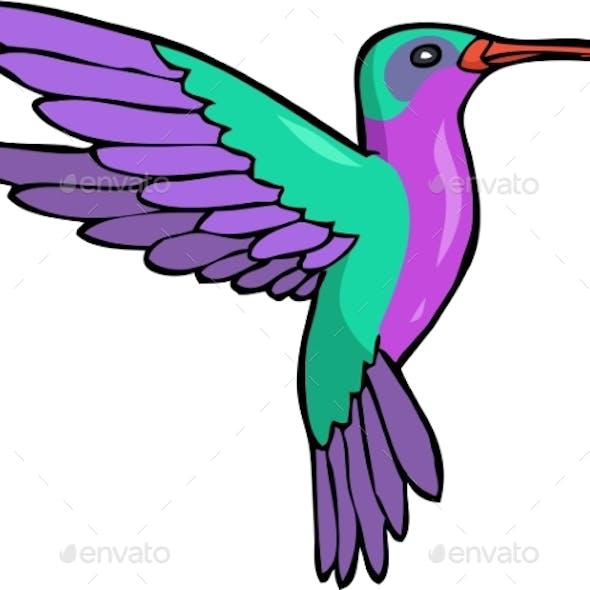 Doodle Humming Bird