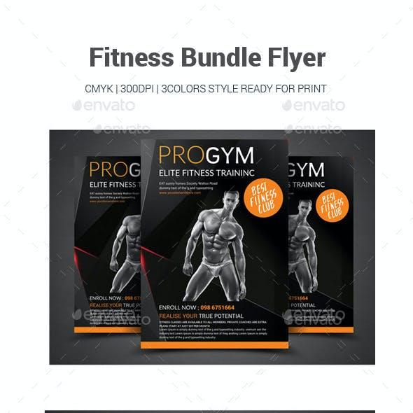 Fitness Bundle Flyer