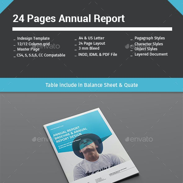 24 Pages Annual Report