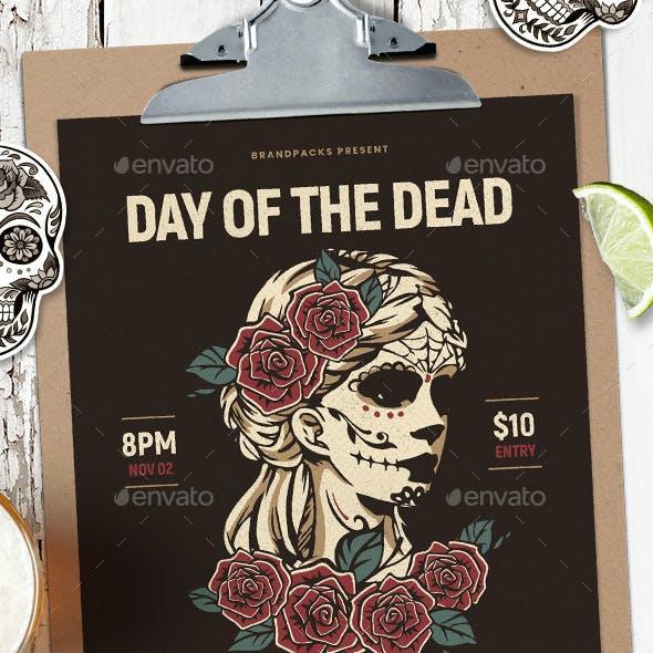 Dia De Los Muertos Flyer / Poster