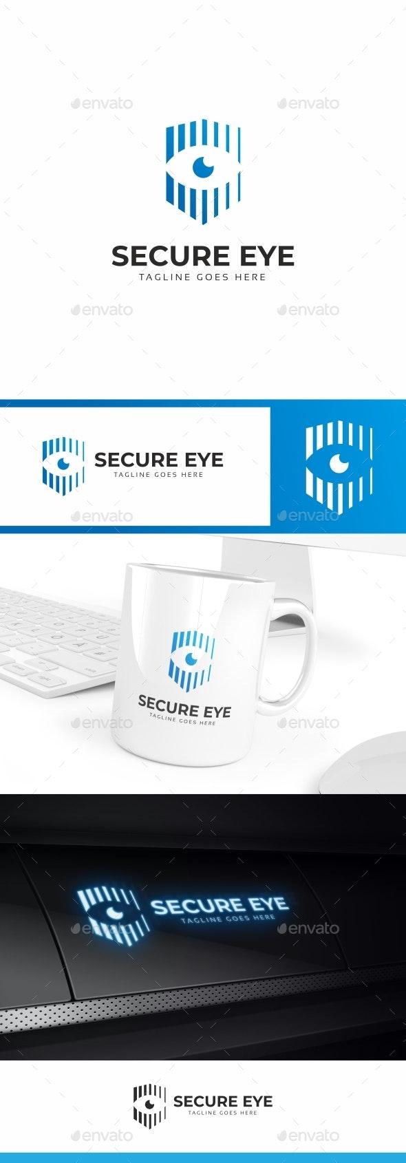 Secure Eye Logo - Symbols Logo Templates