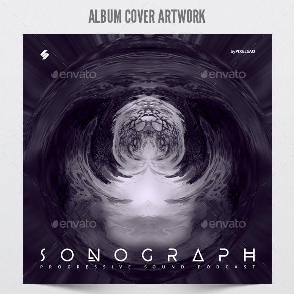 Sonograph - Album Cover Artwork Template