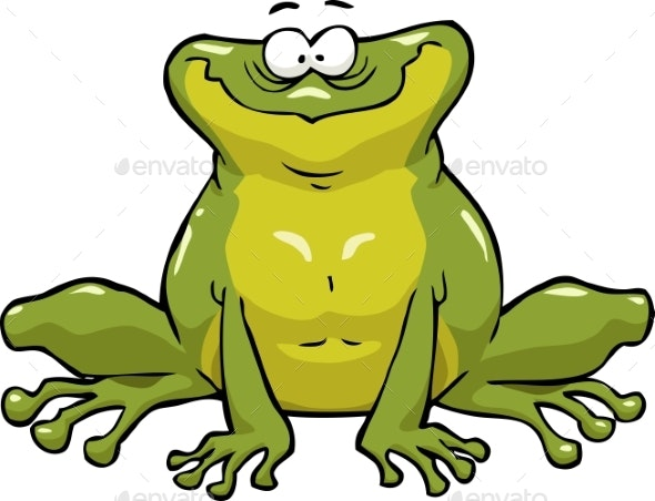 Smiling Frog - Miscellaneous Vectors