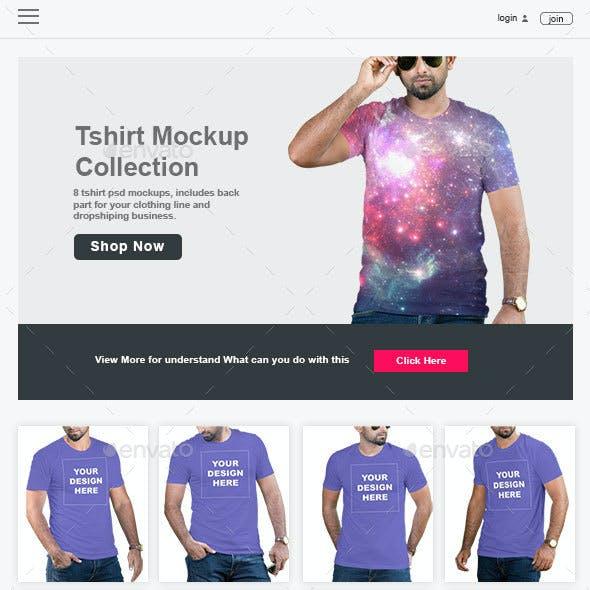 Professional Tshirt Mockup Vol-7