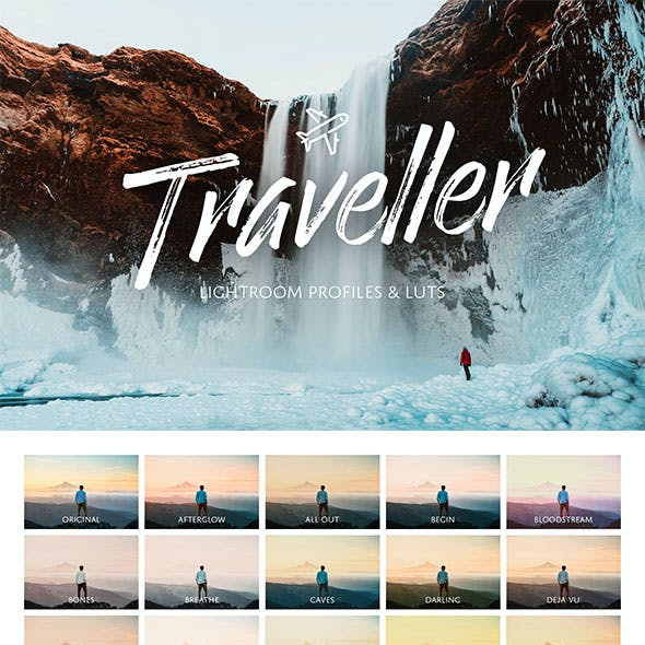 Sam Kolder Lightroom Presets from GraphicRiver